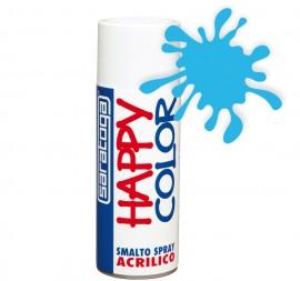 """Vopsea spray """"HAPPY COLOR"""" acrilic ALBASTRU DESCHIS 400ml"""