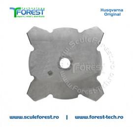 Disc (cutit) motocoasa Husqvarna Grass pt.iarba, 255mm, 4 cutite   SculeForest