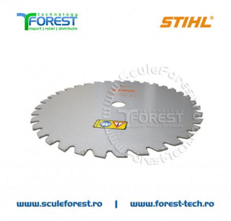 Disc motocoasa Stihl, arbusti 225mm 36dinti, metal dur