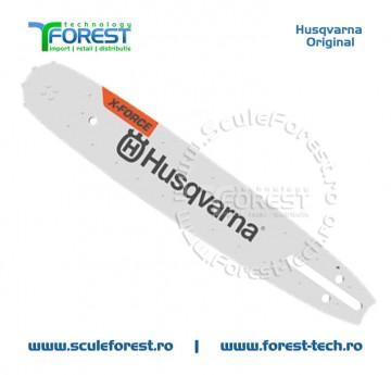 "!!! NOU !!! * Sina drujba Husqvarna 16"" X-FORCE (40cm) pas 3/8"" 1.5mm"