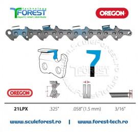 Rola lant Oregon 21LPX-100R Super20 PowerCut 30,5m, pas .325, canal 1,5