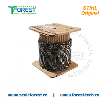 Rola lant Stihl 63 PMC3 30,5m, pas 3/8, canal 1.3mm (colt rotund) - 3636 000 1640