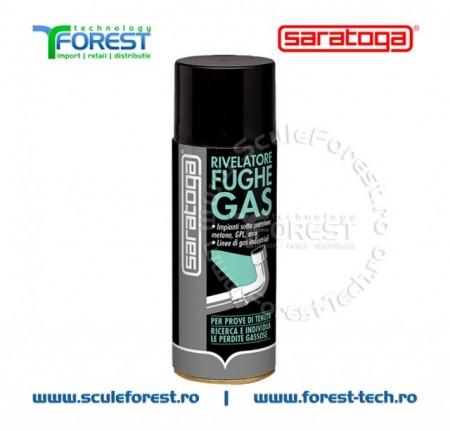 Spray detectare scapari de gaz - 400ml