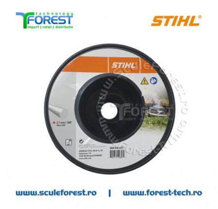 Fir motocoasa Stihl 2.7 mm (damil) la rola 208m   SculeForest.ro