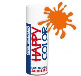 """Vopsea spray """"HAPPY COLOR"""" acrilic PORTOCALIU PASTEL 400ml"""
