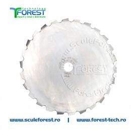 Disc (cutit) motocoasa Husqvarna Maxi, arbusti 200mm 26dinti | SculeForest