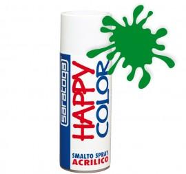 """Vopsea spray """"HAPPY COLOR"""" acrilic VERDE PAJISTE 400ml"""