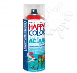 "Poze VOPSEA SPRAY ""HAPPY COLOR AQUA"" PE BAZA DE APA TRANSPARENT LUCIOS - 400ml"