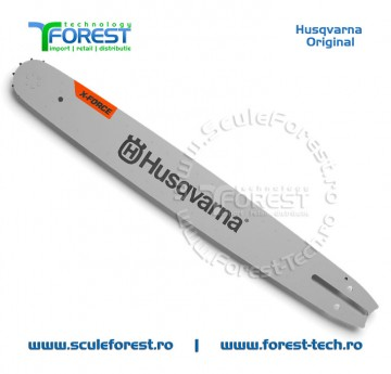 "!!! NOU !!! * Sina drujba Husqvarna 18"" X-FORCE (45cm) pas 325"" 1.5mm Pro Laminated"