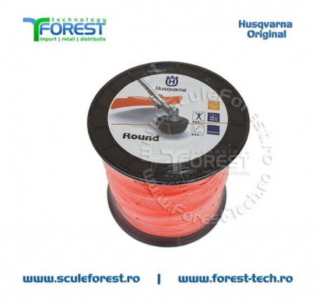 Poze Rola fir trimmy 2.4mm x 240m Round Husqvarna