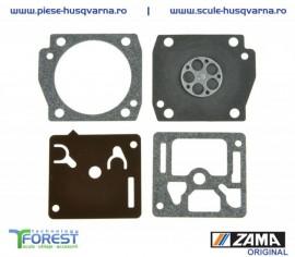 Set diafragme ZAMA carburator drujba Husqvarna 340, 346, 350, 353