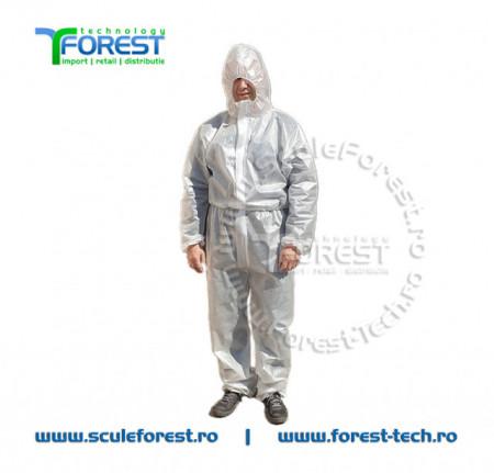 Combinezon protectie impermeabil de unica folosinta