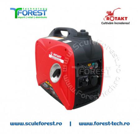 Generator curent monofazic tip inverter 1.8kW Rotakt ROGE2000IS, benzina