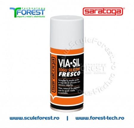 VIA-SIL FRESCO - spray solutie curatat silicon proaspat - 150ml