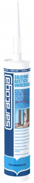 Silicon acetic universal TRANSPARENT - 280ml