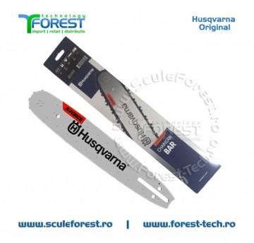 "Sina drujba Husqvarna 16"" X-FORCE ( 40cm ) pas 3/8"" 1.5mm Laminated Small"