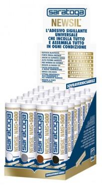 Adeziv sigilant universal NEWSIL® NMS • 500 de culoare GRI - 290ml