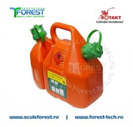 Canistra carburant 6L+2.5L Combi Rotakt