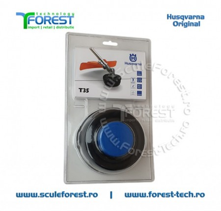 Cap fir trimmy T35 M10 pentru motocositoare Husqvarna 125R, 128R, 323R, 323R II, 232R, 128LDx, 324Rx,327Rx