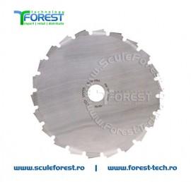 Disc (cutit) motocoasa Husqvarna Scarlett, arbusti 200mm 22dinti | SculeForest