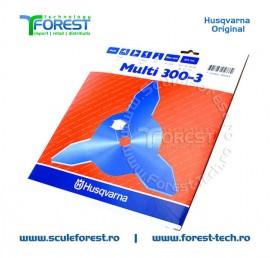 """Disc taiere iarba 300mm , 3 cutite, 1"""" (25.4mm) - Husqvarna"""