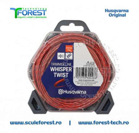 Fir motocoasa (damil) 2.0mm x 15m Whisper Twist | SculeForest