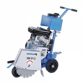 Masina de taiat beton-asfalt WEBER SM 57-2 HD - disc 350mm
