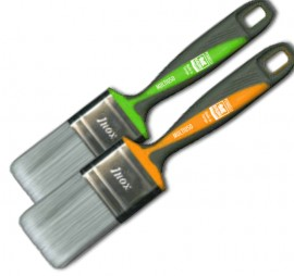 Pensula SAURO® MUTIIUSO cu peri fibra Matrix Silver - latime 40mm