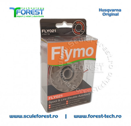 Tambur cu fir trimmere electrice Flymo Contour 500 - 700