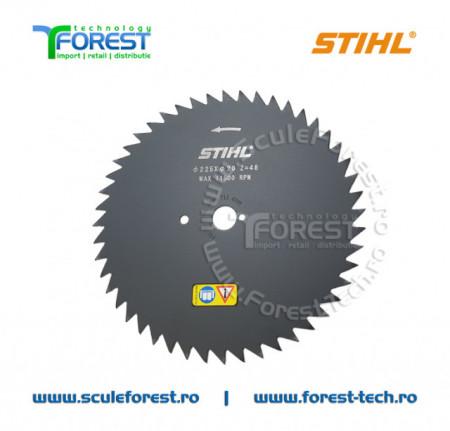 Disc (cutit) motocoasa Stihl, arbusti 225mm 48dinti | SculeForest