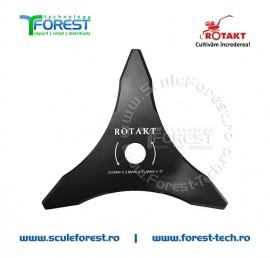 "Disc taiere iarba 255mm, 3 cutite, 1"" (25.4mm) - Rotakt"