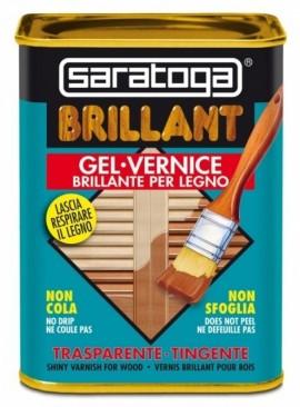 Lac lucios pentru lemn BRILLANT culoare CASTANIU - 750 ml