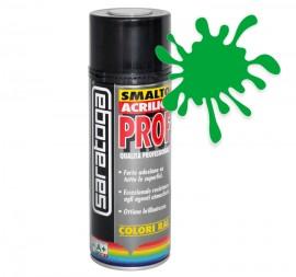 Spray email lucios SMALTO acrilic profesional VERDE SMARALD RAL6001 - 400ml