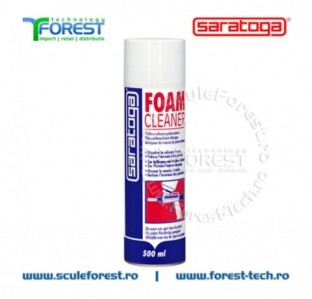 Poze Spray solutie curatare spuma poliuretanica FOAM CLEANER - 500ml.