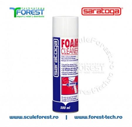 Spray solutie curatare spuma poliuretanica FOAM CLEANER - 500ml.