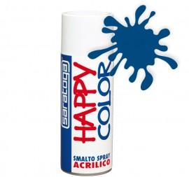 """Vopsea spray """"HAPPY COLOR"""" acrilic ALBASTRU TRAFFIC RAL 5017 400ml"""
