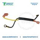 Cablu electric asamblat pentru drujba Husqvarna 136, 137, 141, 142