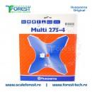 Disc (cutit) motocoasa Husqvarna pt.iarba, 275mm, 4 cutite | SculeForest