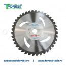 Disc (cutit) motocoasa VIDIA ANOVA, arbusti 255mm 40dinti | SculeForest