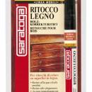 Marker retus lemn culoare NUC DESCHIS - marker in blister