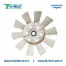 Paleta la ventilatorul cutiei de viteze la tractoarele Husqvarna TC 142T