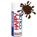 """Vopsea spray """"HAPPY COLOR"""" acrilic MARO CIOCOLATA RAL 8017 400ml"""