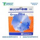 Disc (cutit) motocoasa Husqvarna Grass pt.iarba, 250mm, 8 dinti | SculeForest
