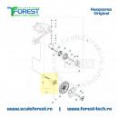 Garnitura la motorul de antrenare roata pentru robot Husqvarna AutoMower 315, 315x, 220AC