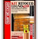 "Kit reparare lemn ""GRAN CLASSE"" culoare CIRES - blister chit + marker"