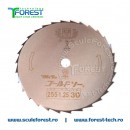 """Disc taiere arbusti GOLD 255 mm, 30 dinti, 1"""" (25.4mm)"""