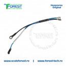 Cablu electric asamblat pentru drujba Husqvarna 435, 435e, 440e