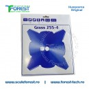 Disc (cutit) motocoasa Husqvarna Grass pt.iarba, 255mm, 4 cutite | SculeForest