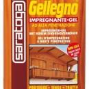Gel impregnant pentru lemn - GELLEGNO - 750ml - nuanta NUC INCHIS