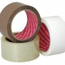 Banda adeziva ALBA din polipropilena nezgomotoasa pentru ambalaje - 66m x 50mm